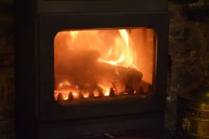 For colder ones we have a roaring fire