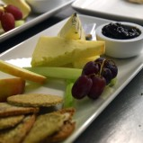 Trio of local cheeses, with our own chutney and oatcakes